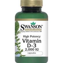 SWANSON USA _ High Potency Vitamin D-3 6 Bottles