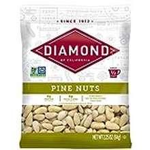 Diamond Diamond Nuts Pine Nuts, 2.25-Ounce Bags (Pack Of 12)