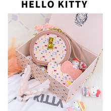 Hello Kitty Authorized Women Round Bag+ Card Bag Suit + New Gift Box Series Kt20222