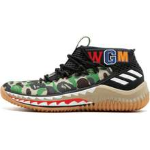 adidas X Bape Dame 4 Sneakers Black