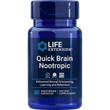 Life Extension Quick Brain Nootropic, 30 Vege Caps