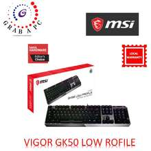MSI Vigor Gk50 Low Profile Gaming Keyboard