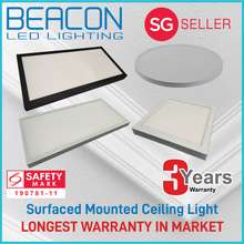 Beacon LED 40W Ceiling Light / Square Round Rectangle Surface Mounted Light-3 year warranty LONGEST WARRANTY (Please refer to the images for colour selection) (40W Round 400mm Day Light)