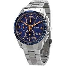 Rado Hyperchrome Chronograph Automatic Blue Dial Mens Watch R32042203