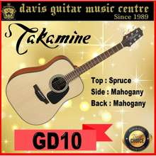 Takamine Gd10-Ns Acoustic Guitar Satin (2 Days Delivery)