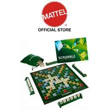 Mattel Scrabble Original Board Game For Family & Friends