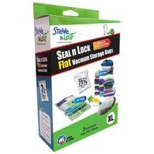 Steve & Leif Flat Vacuum Storage Bags (Extra Large) 2 Pcs