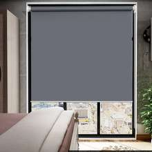 DORMILA. Ready Stock-Office Curtain, Window Blinds, Blinds Curtain, Fine Lines, Hand-Held Lifting, Full Shading, Sun-Proof And Heat Insulation