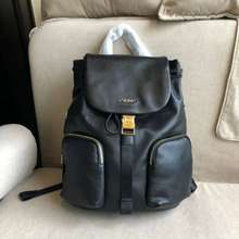 TUMI Travel Bag Suit For Women/Men Backpack Full Cow Leather Laptop Bag Authentic
