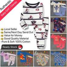 GAP ✅Sg Seller 🐳 Baby Disney Baby Sleepwear / Kids Pyjamas Set / Sleepsuit / Pajamas Set 🐳