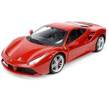 Bburago 1:24 488 GTB Sports Car Static Simulation Diecast Alloy Model Car