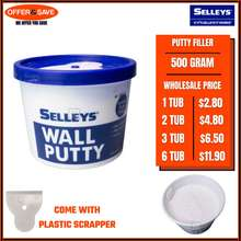 Selleys ( Cheapest Deal) Wall Putty Filler 20-1338 (White)