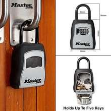 Master Lock Outdoor Key Safe Box Keys Storage Box Padlock Use Password Lock Alloy Material Keys Hook Security Organizer Boxes